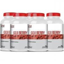 Gojiberry em Cápsulas Kit com 5 potes - Chá Mais