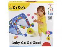 Gol do Bebê com 10 Bolinhas - Ks Kids