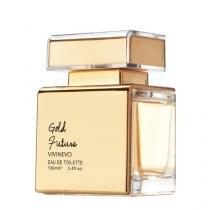Gold Future Vivinevo - Perfume Feminino - Eau de Toilette - 100ml - Vivinevo