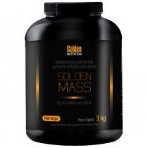 Golden Mass - 3Kg - Golden Nutrition - Morango - Golden Nutrition