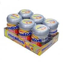 Goma de Mascar Mentos Lemonade Fusion Bottle c/6 - Perfetti -