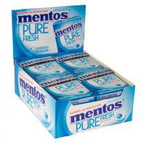 Goma de Mascar Mentos Pure Fresh Mint c/12 - Perfetti -