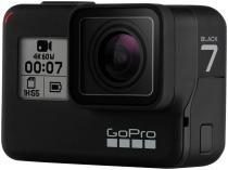 "GoPro Hero 7 Black 12MP 4K Wi-Fi Bluetooth - 2"" à Prova de Água com Bateria"