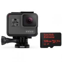 GoPro HERO6 Black + Cartão Sandisk 128GB -