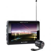 GPS 5 Tracker III com Camera de RE/TV/RADIO FM Multilaser GP037 Preto -