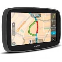 GPS Auto TomTom GO 60B 6,0 Pol Alerta Radar e Congestionamento Touch USB SD MP4 3D -