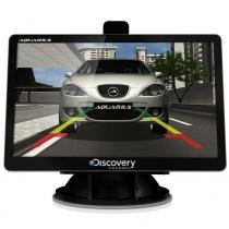 Gps automotivo  4.3 polegadas tv digital 3d  alerta de radar - Aquarius