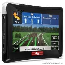 GPS Automotivo Aquarius Guia Quatro Rodas 4,3 Polegadas + TV - Aquarius