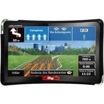 GPS Automotivo Aquarius Guia Quatro Rodas MTC4374 Tela 4.3 com TV Digital -