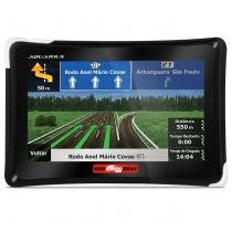 GPS Automotivo Aquarius Guia Quatro Rodas MTC4761 7 Polegadas TV MP3 USB SD AUX FM 3D Alerta Radar - Aquarius