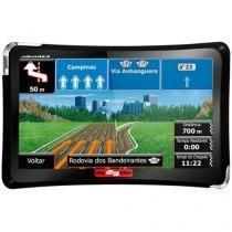 """GPS Automotivo Aquarius Guia Quatro Rodas Slim Tela 4.3"""" Touch Screen - MTC4310 -"""