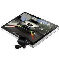 """GPS Automotivo Discovery Channel 5.0"""" Slim TV Digital e Câmera de Ré - Aquarius MTC3383 -"""