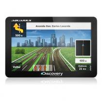 GPS Automotivo Discovery Tela de 4.3 Slim Touch Screen MTC2420 -