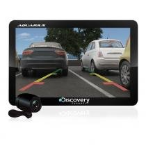 GPS Automotivo Discovery Tela de 4.3 Touch Screen com TV Digital e Câmera de Ré MTC3842 -