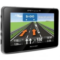 GPS Automotivo Multilaser Tracker 4.3 Polegadas MP3 MP4 TV Digital - Multilaser