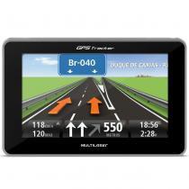 GPS Automotivo Multilaser Tracker GP033 4,3 Pol 3D Alerta Radar Touchscreen Leitor E-Book MP3 SD USB -