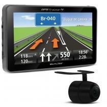 GPS Automotivo Multilaser Tracker GP039 7 Polegadas MP3 MP4 SD TV Câmera Ré - Multilaser