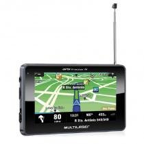 GPS Automotivo Multilaser Tracker III 4,3 polegadas TV Digital GP034 -