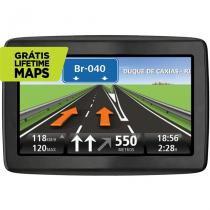 """GPS Automotivo TomTom Via 1505M Tela 5"""" com Função TTS - Preto -"""