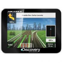 "GPS Discovery Channel 3,5 "" Pol. Ultra Slim - Hard Aquarius MTC2060 -"