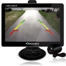 GPS Discovery Channel 4,3 com TV digital + câmera de ré - AQUARIUS