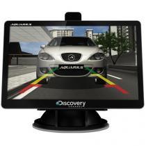 """GPS Discovery Channel MTC 3752 Slim Tela 5.0"""" - Mp3 Player - Aquarius"""