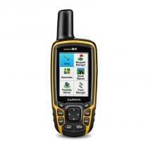 """GPS Esportivo Portátil Garmin GPSMAP 64 Preto e Amarelo com Tela de 2,6"""" e Memória Interna 4GB -"""