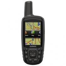 """GPS Garmin GPS Map 64SC Pedestre - 4GB Tela 2,6"""" Português"""