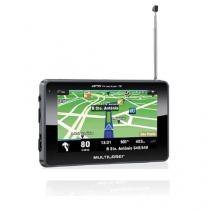 GPS Multilaser 4.3 Polegadas Touchscreen c/ TV + FM - GP034 - Multilaser