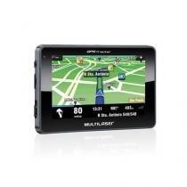 GPS Multilaser Navegador 4.3 Polegadas Touchscreen - GP033 - Multilaser