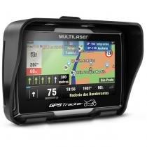 GPS Multilaser Tracker 2 Moto 4,3 Polegadas Touch Screen Bluetooth - Multilaser