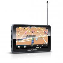 """GPS Multilaser Tracker III 5"""" GP037 com Câmera de Ré + TV + FM - Multilaser"""
