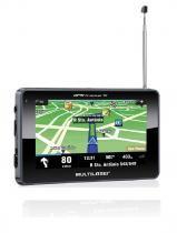 GPS Multilaser Tracker III Tela 4.3 Preto Tv Digital Radio Fm - Gp034 - Multilaser