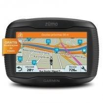 "GPS para Moto Garmin Zumo 395LM Preto Touchscreen 4,3"" Bluetooth -"
