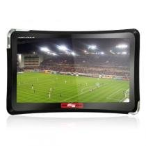 "GPS Quatro Rodas Slim Aquarius, Preto, MTC4374, Tela de 4.3"", 2GB, Touch Screen -"