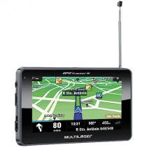 Gps tracker iii 4,3 com tv /fm gp034 - multilaser -