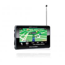 Gps Tracker III 4,3 Pol. Com Tv + Fm 2Gb Flash - Multilaser MUL-087 -