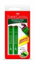 Grafite 0,5mm 02 Unidades 2b Smtmgo52b Faber Blister - 1
