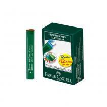 Grafite 0,9mm HB 12 Estojos com 24 Grafites Faber Castell - Faber-castell