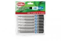 Grafite preto 0,7 mm 12 goller com 12 -