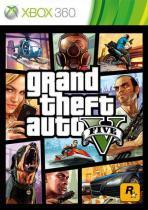Grand Theft Auto  V (GTA V) - Xbox 360 - Rock star