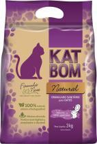 Granulado Sanitário Katbom Natural 3 kg -