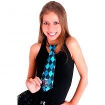 Gravata Monster High - Azul - Único - Sulamericana