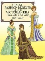 Great fashion designs of the victorian era - Dover publications