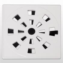 """Grelha Quadrada Disp/Veda Rotativo Branca 10,2x102""""Cm Grb3/As Astra - ASTRA"""