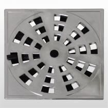 Grelha Quadrada Disp/Veda Rotativo Cromada 15x15cm Grb6/As Astra - ASTRA