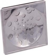 Grelha quadrada rotativa sem caixilho 10 x 10 cm prinox - Met.prinox