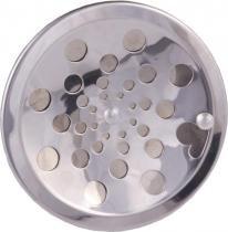 Grelha redonda rotativa inox sem caxilho 10 prinox en - Met.prinox