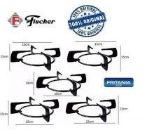 Grelhas Grade Fogão Fischer Original Kit 5 Peças C 12559 - Fritania