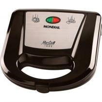 Gril e Sanduicheira Mac Grill Inox S 11 220V Mondial -